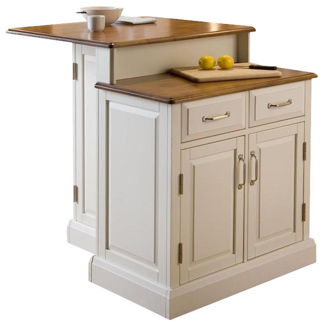Kitchen Islands And: 2-Tier Kitchen Island