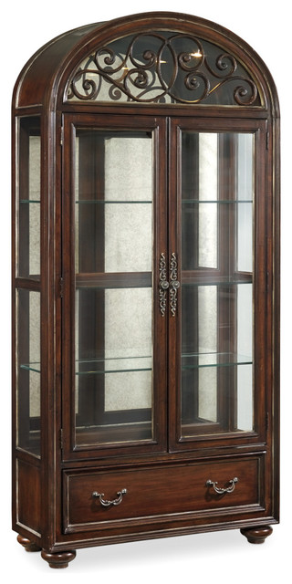 Hooker Furniture Grand Palais Two-Door Display Cabinet - Traditional - China Cabinets And ...