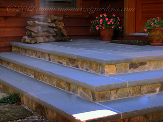Stone Landing And Steps In Westchester Ny Traditional