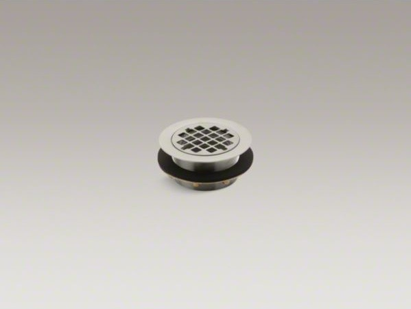 Kohler Round Shower Drain For Use With Plastic Pipe Gasket Included Contemporary Bathroom