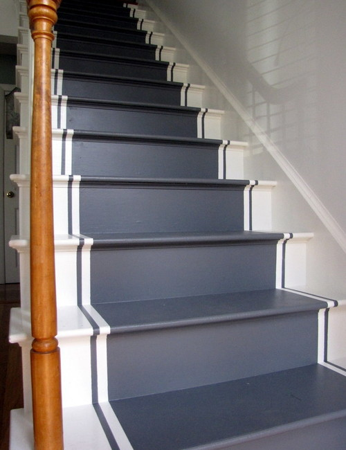 Painted stair runners