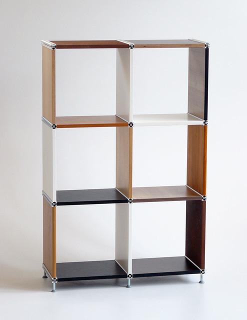 regal aus recycelten m belplatten rechtwinklige zuschnitte. Black Bedroom Furniture Sets. Home Design Ideas