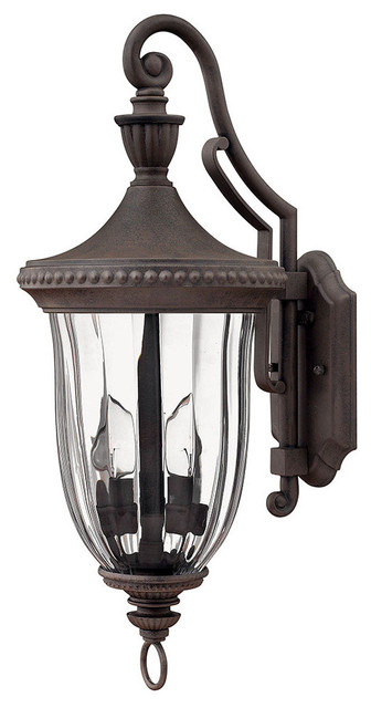 Exterior Wall Sconces Traditional : Oxford Outdoor Wall Sconce, Medium - Traditional - Outdoor Wall Lights And Sconces - by Lightopia