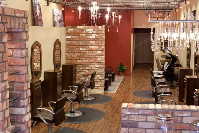 Hair salon home design ideas, pictures, remodel and decor