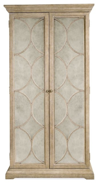 Bernhardt Ellery Wardrobe Cabinet - Modern - Armoires And Wardrobes - by Unlimited Furniture Group