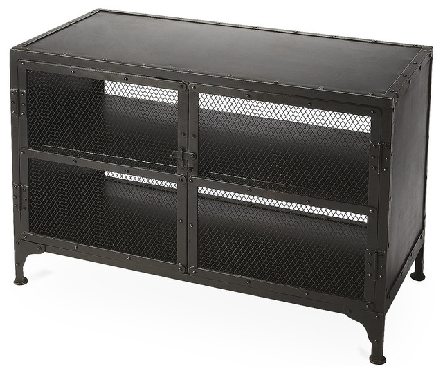 Waleran Rugged Media Console - Industrial - Storage Cabinets