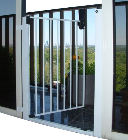 Cardinal Lock-n-Block Sliding Door Gate - Traditional - Baby Gates And Child Safety - by KidSafe ...