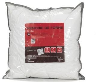 M moire de forme oreiller micro gel 65x65 cm for Carrelage 65x65