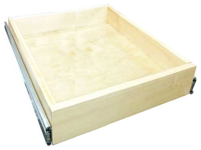"18"" Roll-Out Drawer Kits, Shaker Espresso - Modern - Pantry And Cabinet Organizers - by ..."