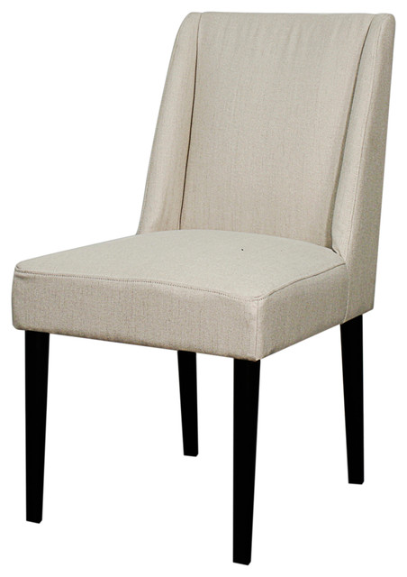 Javon Fabric Chair Sand Contemporary Dining Chairs By New Pacific Dire
