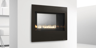 Metro See Through Gas Fireplace