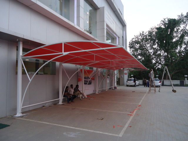 Car parking design for home home design and style for Car shed design