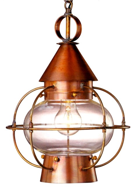 Cape cod onion pendant copper lantern hanging light traditional kitchen island lighting - Traditional pendant lighting for kitchen ...