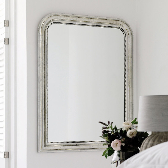 Madison Arched Wall Mirror - Traditional - Wall Mirrors - by The White ...