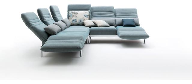 functional sofas of rolf benz minimalistisch eck. Black Bedroom Furniture Sets. Home Design Ideas