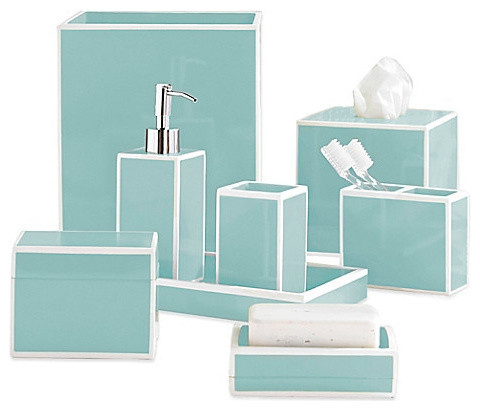soho luxury bath blue complete set bathroom accessory sets by home on the gunpowder. Black Bedroom Furniture Sets. Home Design Ideas