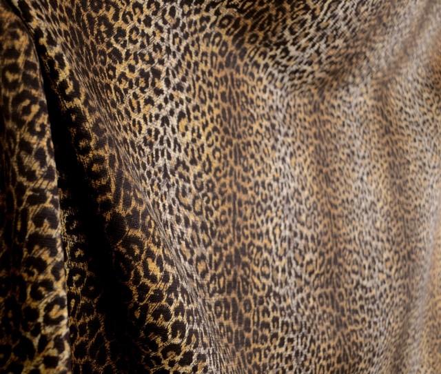 Cheetah Earth Tone Animal Print Fabric Traditional