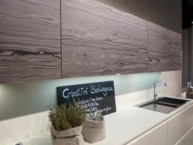 Grey Kitchen Textured Door Fronts Modern Kitchen London By Lwk Kitchens London