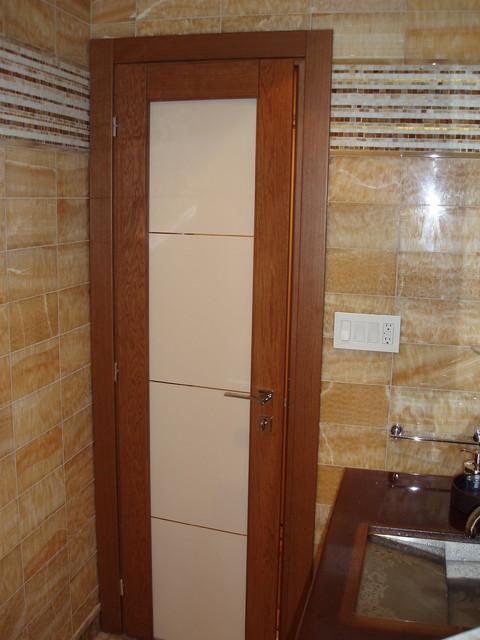 Italian interior doors in solid teak oak contemporary interior doors new york by bella porta Interior doors cincinnati