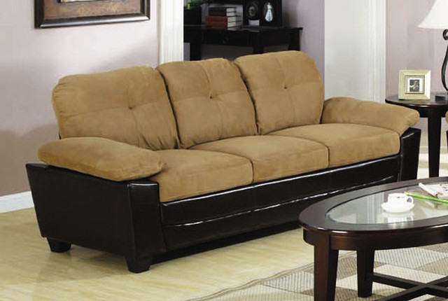 Mika Storage Sofa In Two Tone Upholstery Modern Sofas New York By Big