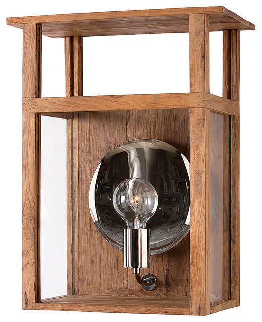 Transitional Outdoor Wall Lights : Hardy Lantern - Transitional - Outdoor Wall Lights And Sconces - by Bliss Home and Design