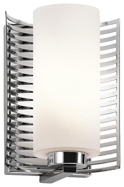 Contemporary Chrome Wall Sconces : Kichler Lighting 45431CH Selene Chrome Wall Sconce - Contemporary - Wall Sconces - by Littman ...