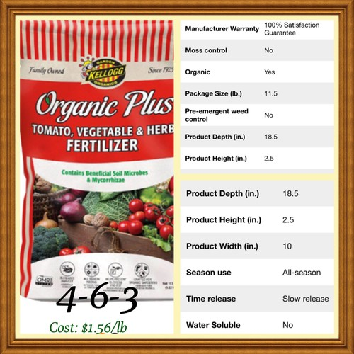 Which vegetable fertilizer would you choose see photos here for Fish emulsion home depot