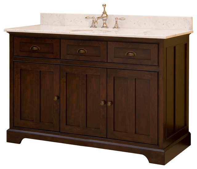 48 Somerset Single Bath Vanity Ss4821d Transitional