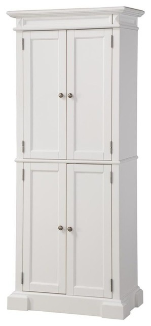 Americana White Pantry - Transitional - Pantry Cabinets - by Home Styles Furniture