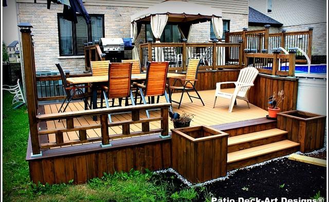 Balcon En Bois Montreal : – Terrasse en Bois et Balcon – montreal – par Patio Deck-Art