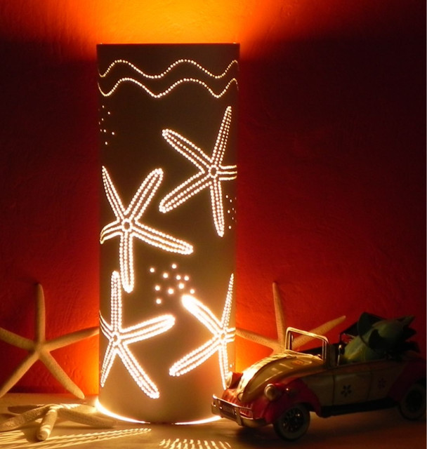 Starfish Artisan Crafted Table Lamp Tropical Table