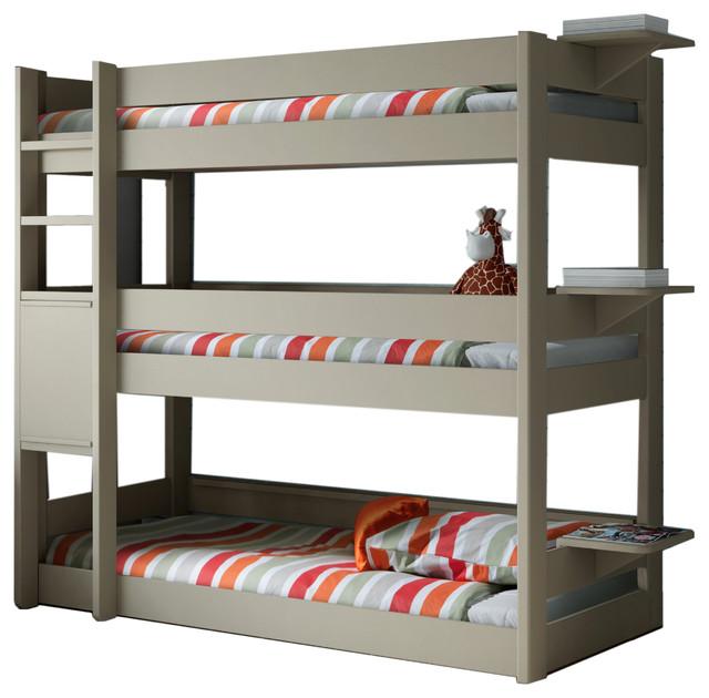 Metal Loft Bed With Desk