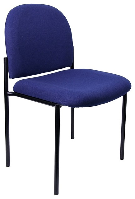 Stackable Steel Office Side Chair Contemporary Office Chairs By ShopLadder