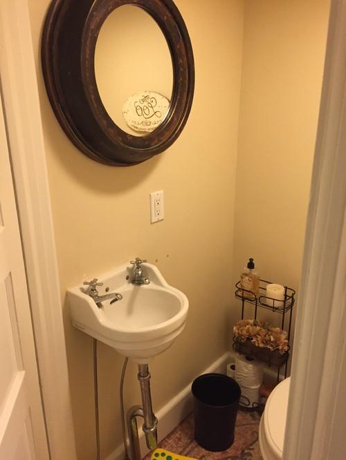 Bathroom ideas for vintage style bathroom - Cute guest bathroom design ideas ...
