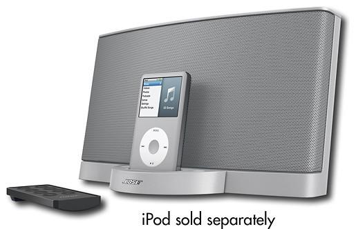 Bose SoundDock Series II Digital Music System for Apple iPod - Silver - Modern - Home ...