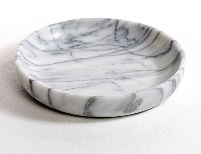 Coupelle en marbre ks nia modern dekofiguren von am pm for Dekofiguren modern