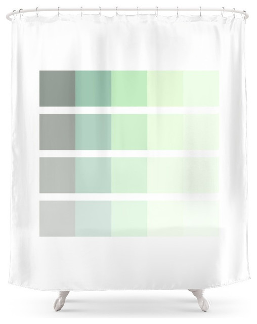 society6 mint shower curtain shower curtains by society6