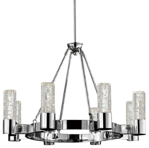 Shop Houzz Tomia Crystal Chandeliers Belinda Eight Light