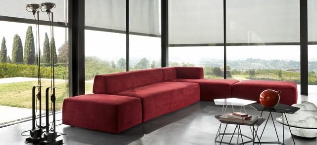Modern corner sofa, L shaped sofas - Sena Home Furniture