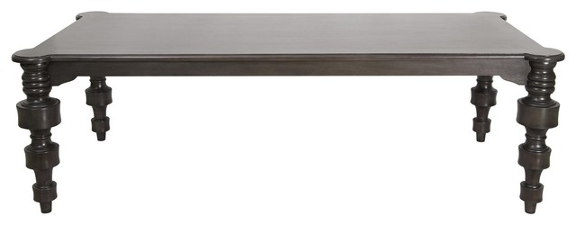 Noir Furniture Karkoff 96 Table In Pale Traditional Coffee Tables By Greatfurnituredeal
