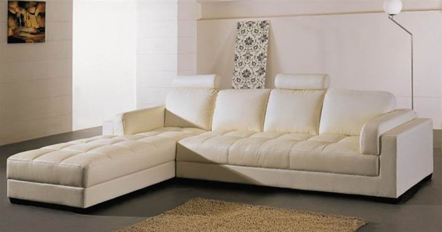 leather scatter back sofa