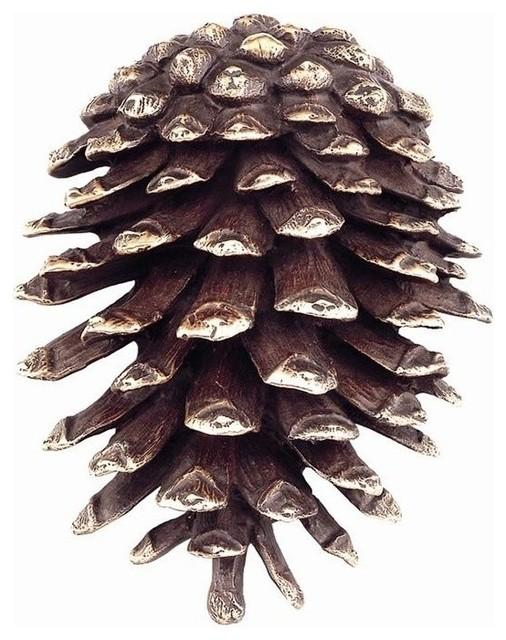 Pinecone brass door knocker rustic door knockers by wildlife wonders - Pine cone door knocker ...