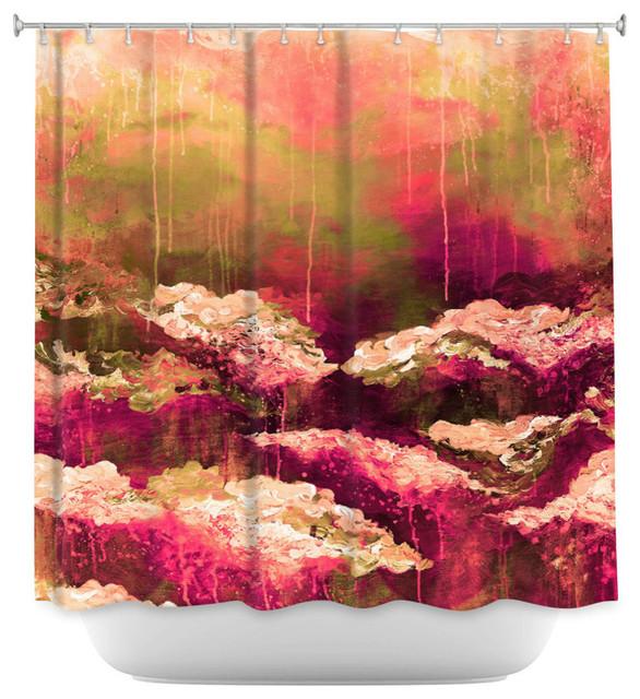 DiaNoche Designs Shower Curtain By Julia Di Sano