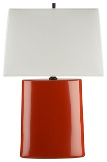 Boka Persimmon Table Lamp Contemporary Table Lamps