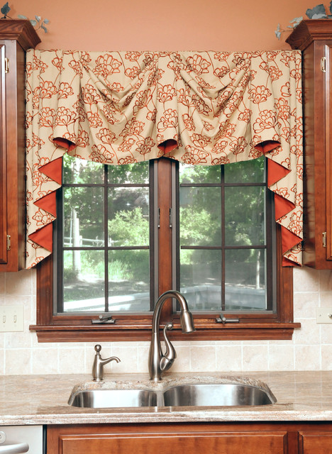 Kitchen modern curtains chicago by beyond blinds inc for Modern kitchen curtains ideas
