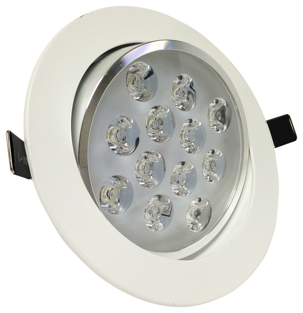 12Watt Directional LED Recessed Ceiling Light AC85-265V