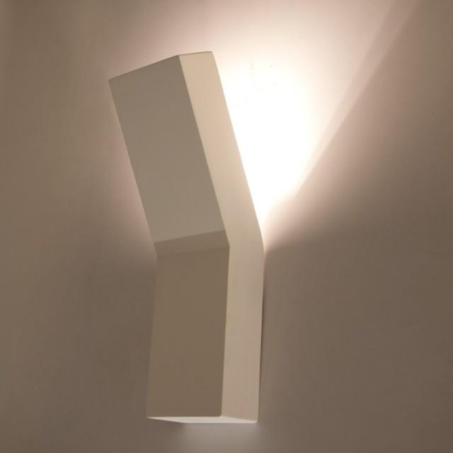 wandleuchte phoebe schmal bauhaus look wandbeleuchtung. Black Bedroom Furniture Sets. Home Design Ideas