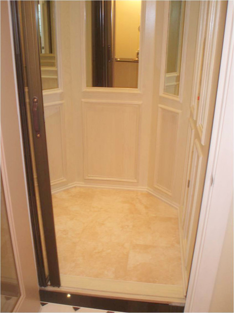 Custom Home Elevator Six Sided Traditional Chicago