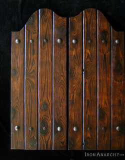 Custom western swinging saloon doors rustic interior for Custom closet doors los angeles