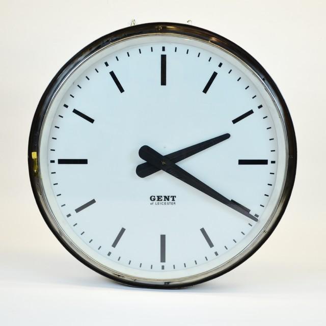 Huge Vintage English Train Station Clock Quot Gents Of